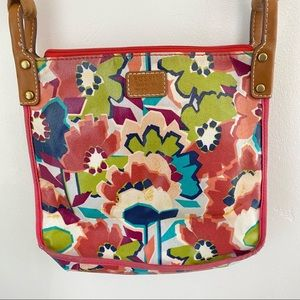Fossil Bright Colorful Floral Crossbody Bag 1954